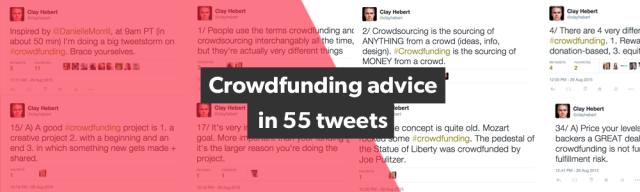 CrowdfundingAdviceIn55Tweets_BlogHeader